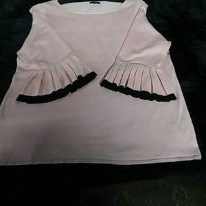 PLUS SIZE The Limited Flare Sleeve Shirt NWOT